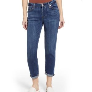 Boyfriend Ankle Cropped Josefina Denim Jeans Pants